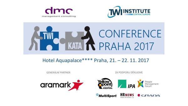 Konference TWI & Kata představila metodu zlepšování efektivity lidí i procesů