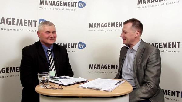 Tadeáš Rusnok v Management tv: Příležitosti chytrého měření v energetice