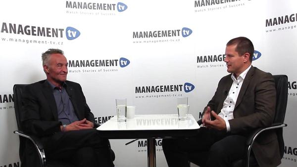 Alexander Bareš v Management tv: O budoucnosti svařování plastů a významu vzdělávání v tomto oboru