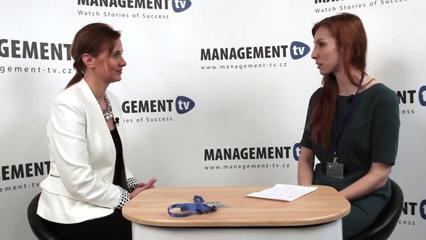 Martina Ježková v Management TV: Vizitkou dobrého lídra je jeho tým