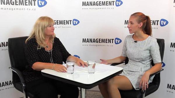 Alena Fischerová v Management TV: U odborných kurzů se nám vyplácí kombinovat tvrdé dovednosti s měkkými