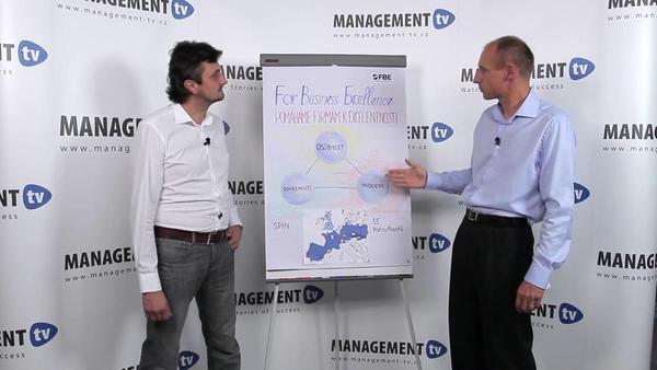David Smik a Milan Bobek v Management TV: Kudy vede cesta k excelentnosti ve firmách?