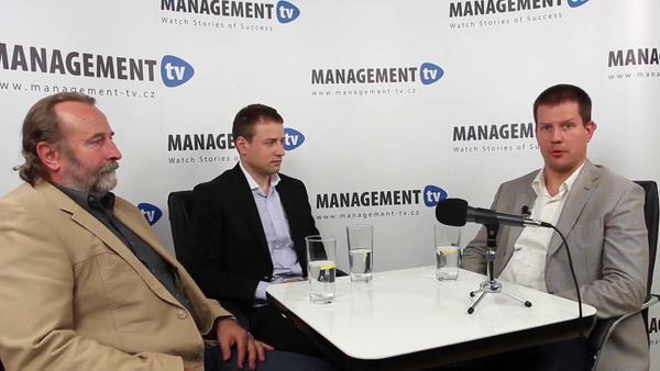 Jaroslav Koloc a Martin Štorkán v Management TV: Cesta ke snadnějšímu uplatnění absolventů